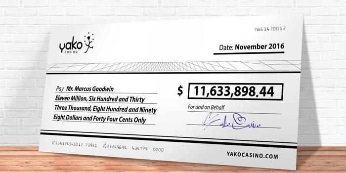 casino cheque