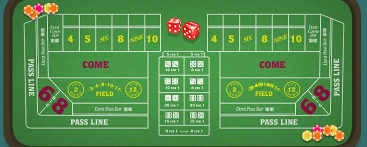 craps in canada for real money