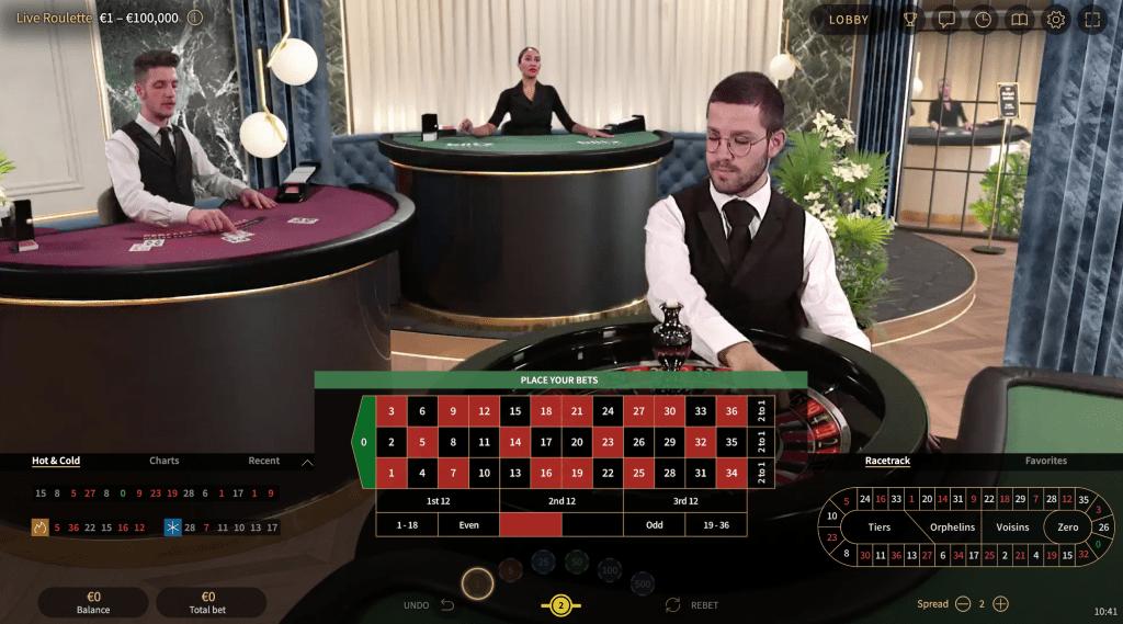 Real Dealer Roulette