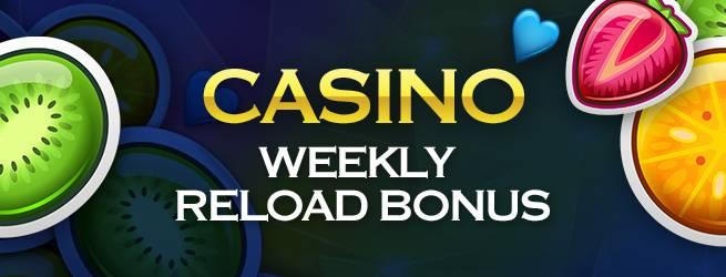 reload bonuses in casino