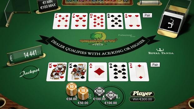 Caribbean Stud poker real money
