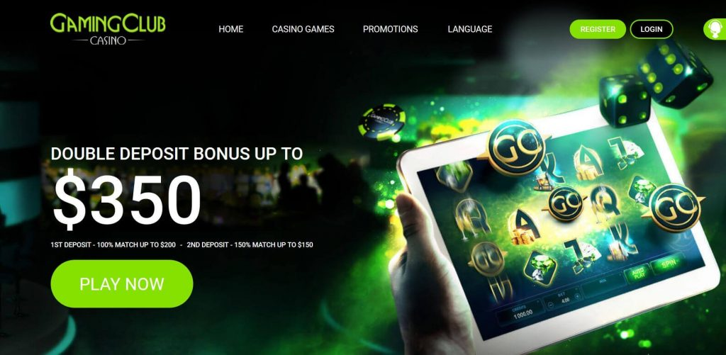 Gaming Club casino promo