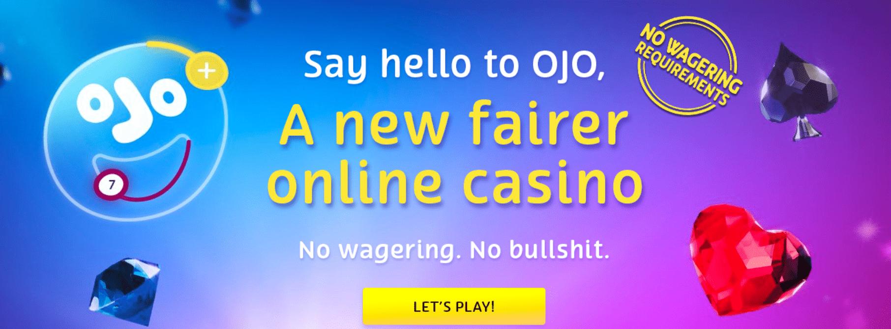 Playojo no wagering