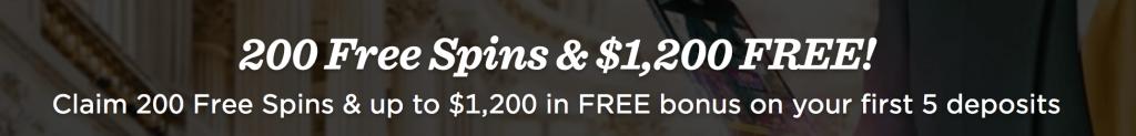 MrGreen Casino welcome bonus offers
