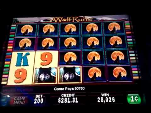 wolf run slot jackpot winning