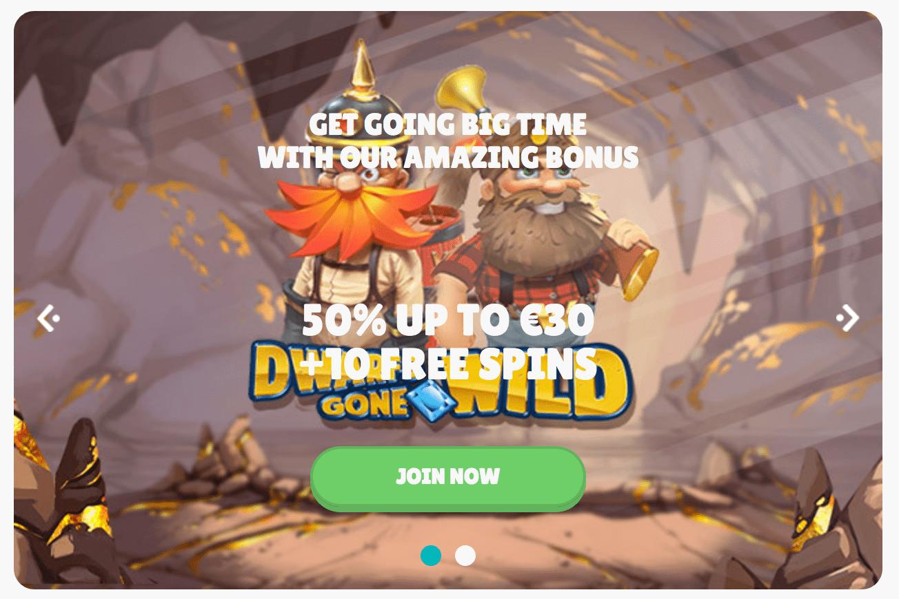 Bonus offers from Cashmio casino