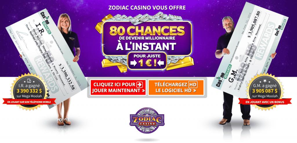 Zodiac casino France