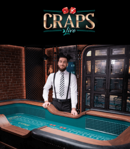 Craps Live by Evolution Gaming