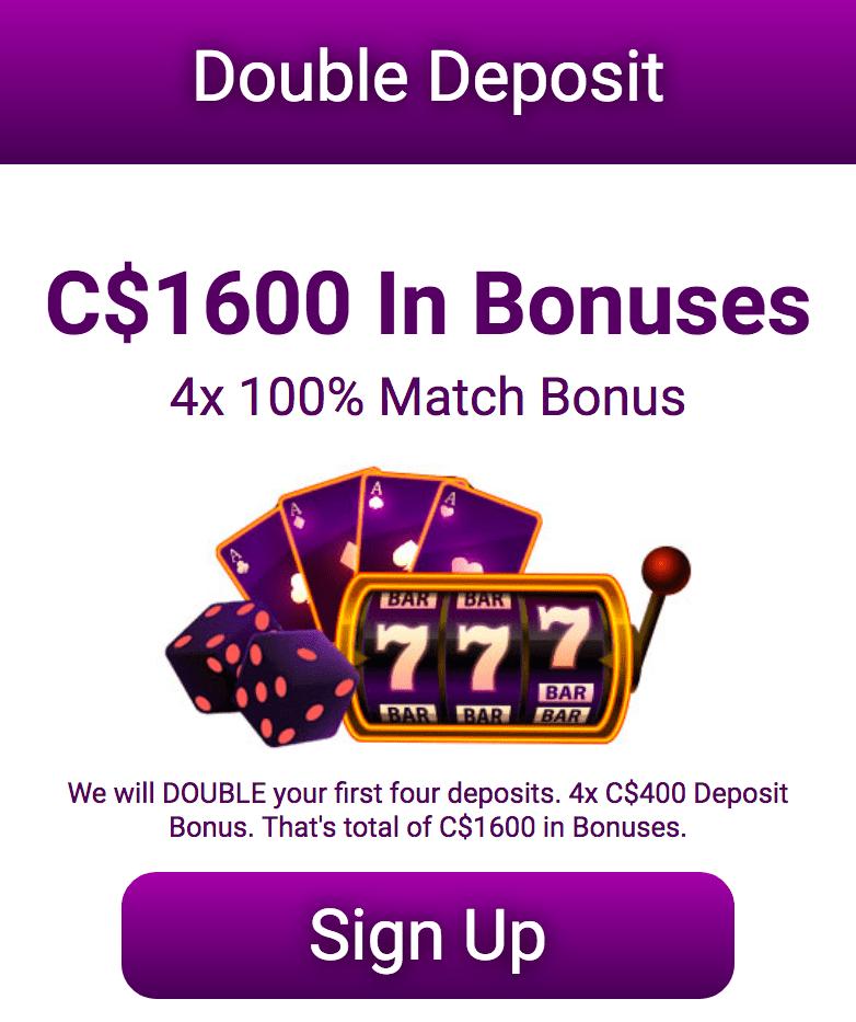 Jackpot City bonus offer