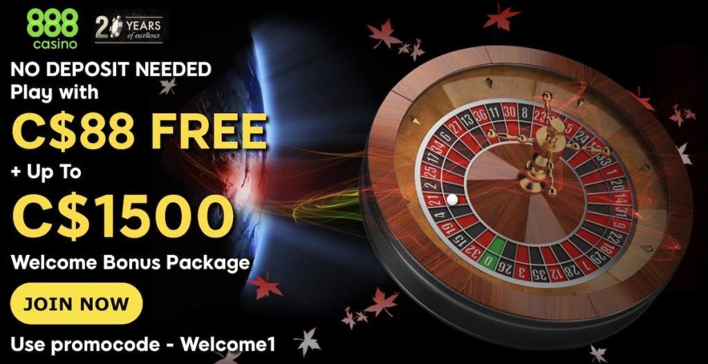 888 casino app bonus