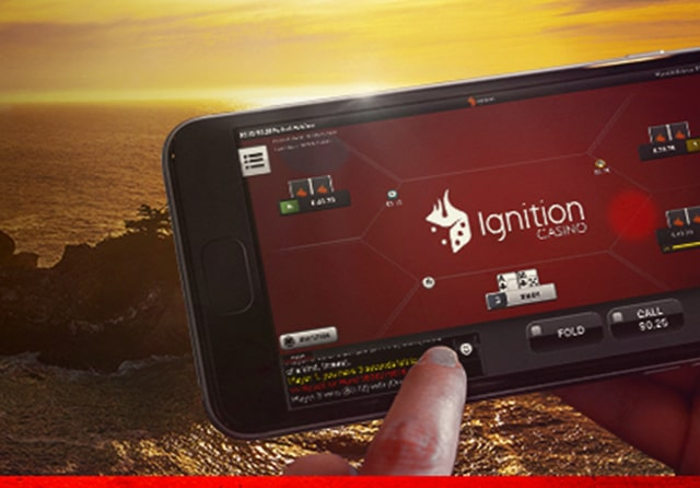 ignition casino poker mobile