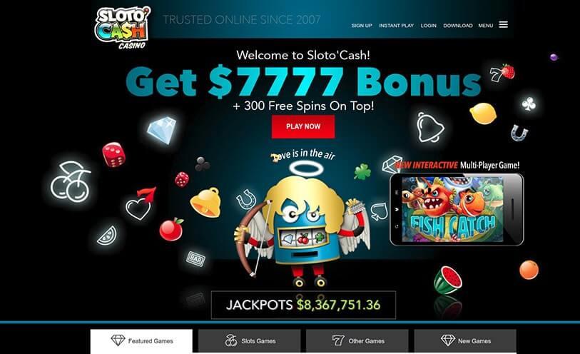 slotocash casino welocme bonus