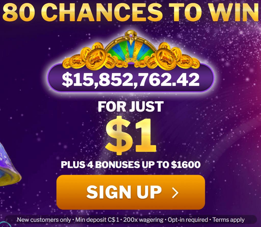 Jackpot City Casino Mindep