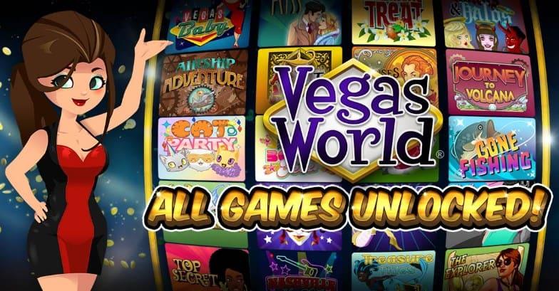 Vegas World Casino Games