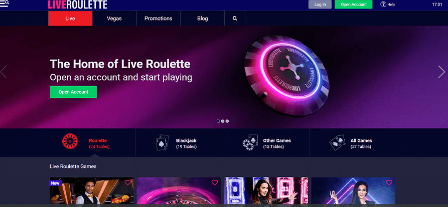 Liveroulette casino review