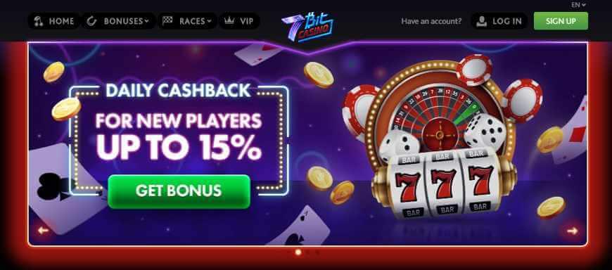 7Bit-Casino bonus