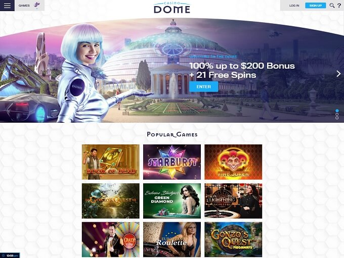 Casino Dome lobby