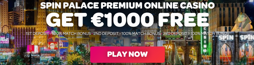 Spin Palace casino promo